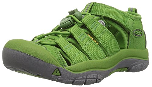 KEEN Big Kid (8-12 Years) Newport H2 Fluorite Green Sandal - 1 M US Big Kid