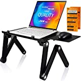 Adjustable Laptop Stand - Perfect Laptop Stand for Bed, Portable Standing Desk at The Office, Laptop...