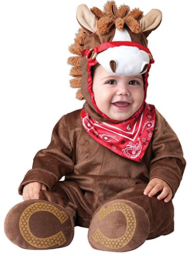 Princess Paradise Baby's Happy Horse Deluxe Costume, As Shown, 12 to 18 (Baby Horse Costume)