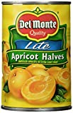 #8: Del Monte, Lite Apricots in Extra Light Syrup, 15oz Can (Pack of 6)