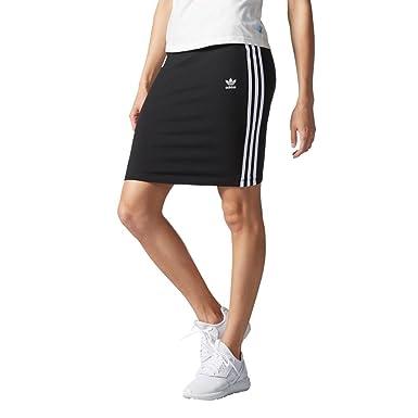 b9405f38f5 adidas Originals Womens Womens 3-Stripes Midi Skirt in Black - 6 ...