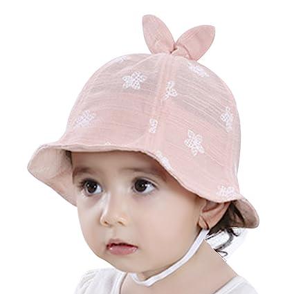 5c82ad401b0a3 ベビー帽子 チューリップハット かわいい 赤ちゃん 帽子 夏 日よけ uvカット 幼児 子供帽子