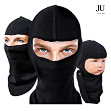 Balaclava Ultimate Ski & Motorcycle Mask Double Pack With Neck Warmer - Winter & Summer Models (both included!) for All Season Use - Ultra Comfort Hypoallergenic Moisture Wicking Microfiber Blend