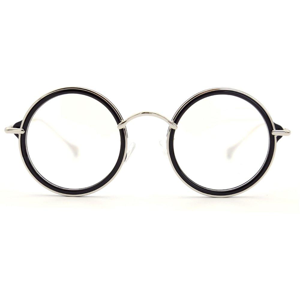 Natwve& Co Retro Round Clear Lens Optical Frames Vintage Eyeglasses New Fashion (58080) Wenzhou.China