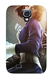 Hard Plastic Galaxy S4 Case Back Cover, Hot Bioshock Infinite Case For Christmas's Perfect Gift