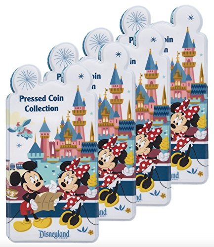 Mickey Mouse and Friends Pressed Coin Collection Holder - Disneyland (4) by Disney Parks