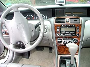 amazon com toyota avalon interior burl wood dash trim kit set 2000 2001 2002 2003 2004 automotive toyota avalon interior burl wood dash trim kit set 2000 2001 2002 2003 2004