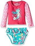 Hatley Baby Girls' Rash Guard Set, Sweet Mermaid, 12-18M