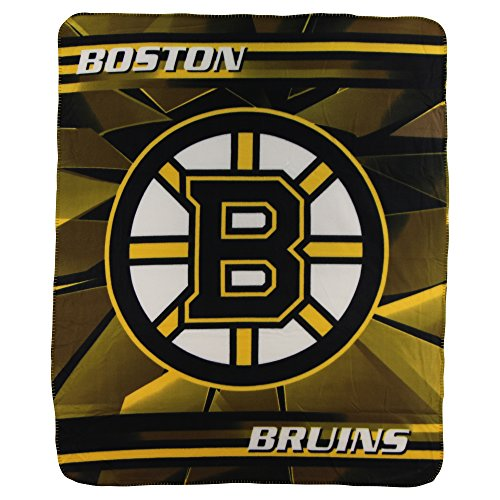 "The Northwest Company NHL Lightweight Fleece Blanket (50"" x 60"") (Boston Bruins)"
