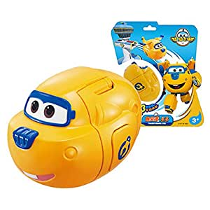 Yellow Super wings egg Transformation robot toys for kids Gift