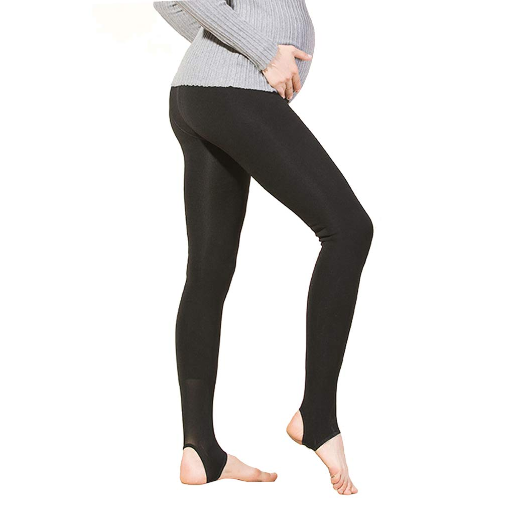 0f02a160a0119 KUCI Pregnant Women Maternity Belly Thick Warm Pantyhose Opaque Tights  larger image