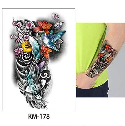 Tatuajes Temporales Mujer Diseños Acuarela Cuerpo Animal Etiqueta ...