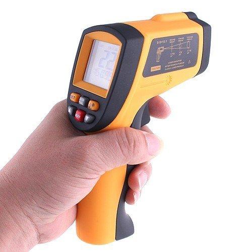MobileFDL GM900 sin contacto termómetro IR Rango de temperatura: -50 a 900 °C (-58 a 1652 °F)/alarma Max/Min/AVG/DIF: Amazon.es: Hogar