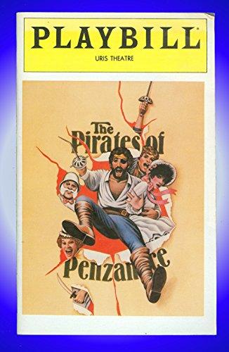 The Pirates of Penzance, Broadway Playbill + Kevin Kline, Linda Ronstadt, Estelle Parsons, Tony Azito