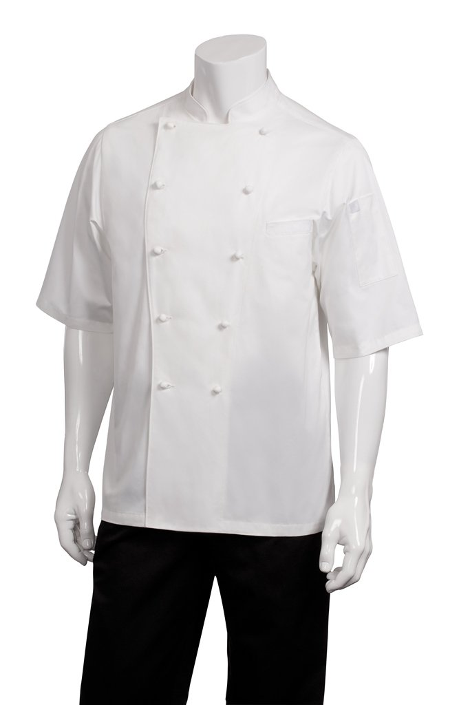 Chef Works Men's Capri Executive Chef Coat (ECSS) by Chef Works