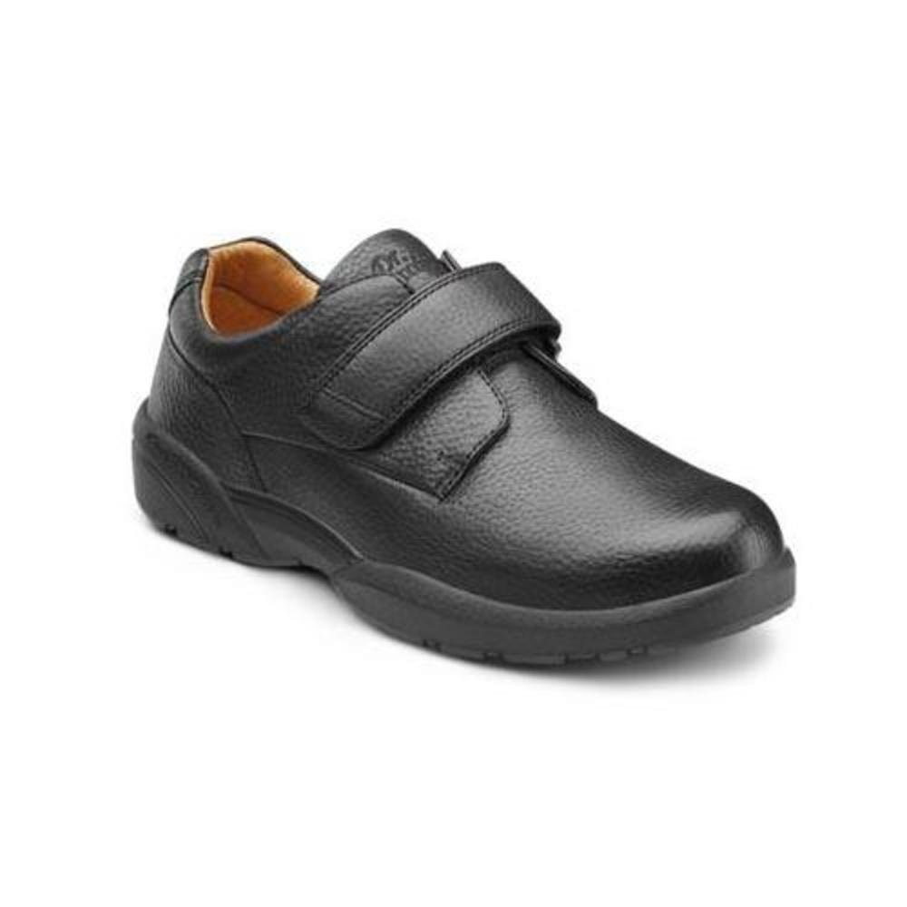 Dr. Comfort William-X Men's Therapeutic Diabetic Extra Depth Shoe: Black 10 X-Wide (XW/6E) Velcro by Dr. Comfort (Image #2)