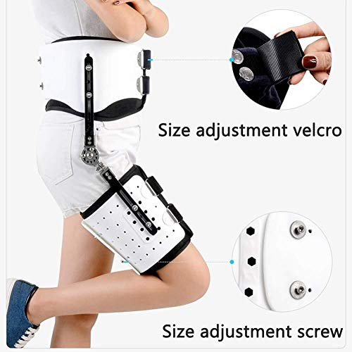 New Hip Stabilizer and Adult Hinge Hip Abduction Orthosis for Support Hip Abduction Support and Hip Dislocation (Size : Leftleg)