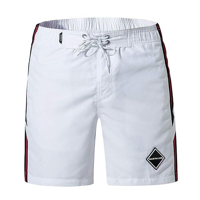 217e9f3ef3 Moda Uomo Mosaico Casuale Spiaggia Surf Nuoto Sport Sciolti Pantaloni  Corti: Amazon.it: Abbigliamento