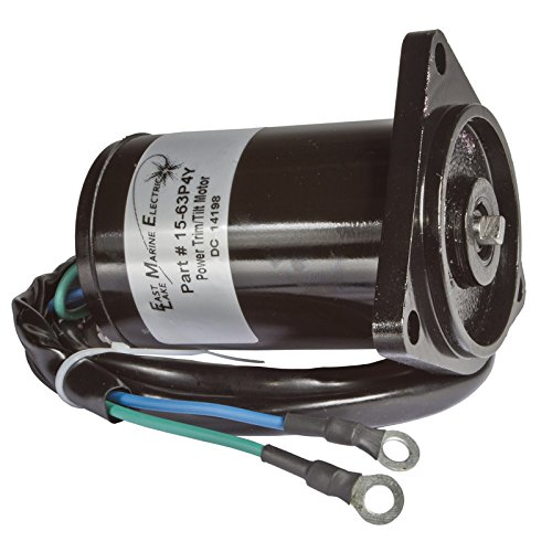 Yamaha Trim/Tilt Motor 150HP 4 Stroke 2010-2014 2 Wire 3 Bolt Mount 63P-43880-10 by East Lake Marine Electric