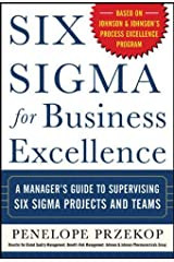 Six Sigma for Business Excellence Hardcover