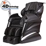 New Tsukino JP316 - 4D Full Body Massage Chair Recliner (Black)
