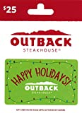 Outback Steakhouse Holiday Gift Card $25