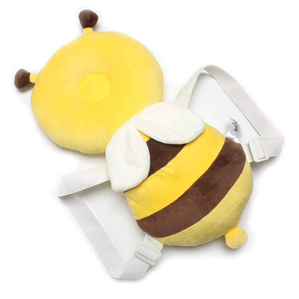 Baby Kopfschutz Pad Kleinkind Kopfst/ütze Kissen Baby Pflege Fallschutz Kissen Cute Rucksack Matte f/ür Baby Kids JBP-X