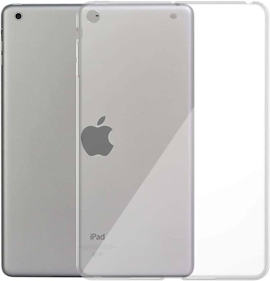 iPad Air 1 Case, Asgens Transparent Slim Silicone Soft TPU Tablet Computer Case for Apple iPad Air 1st Edition (NOT for iPad Air 2)