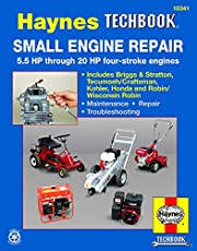 Small Engine Repair 5.5 HP through 20 HP Haynes Techbook (USA)