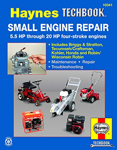 Small Engine Repair for 5.5HP thru 20HP Haynes TECHBOOK