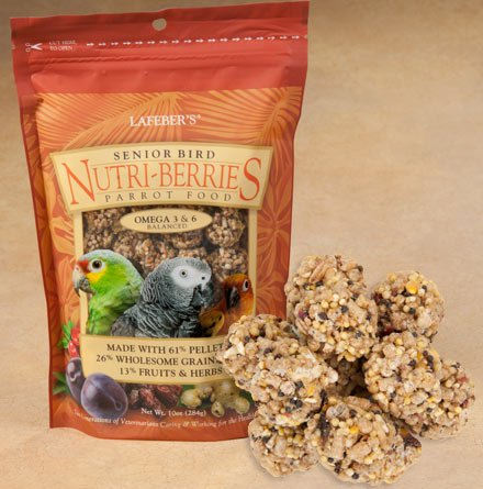 LAFEBERS-Senior-Bird-Nutri-Berries-for-Parrots-10oz