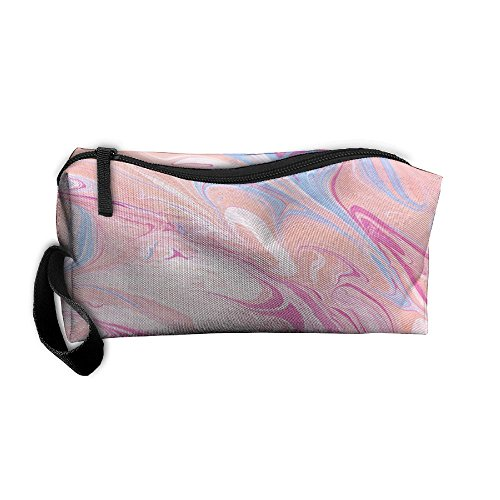 Molorful Marble Pattern Makeup Bag Calico Girl Women Travel Portable Cosmetic Bag Sewing Kit Stationery Bags Fashion Storage Pouch Bag Multi-function (Calico Marble)