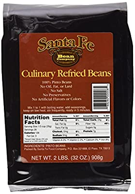 Santa Fe Bean Co Culinar y Refried Beans, 32-Ounce (Pack of 3) from Santa Fe Bean Company