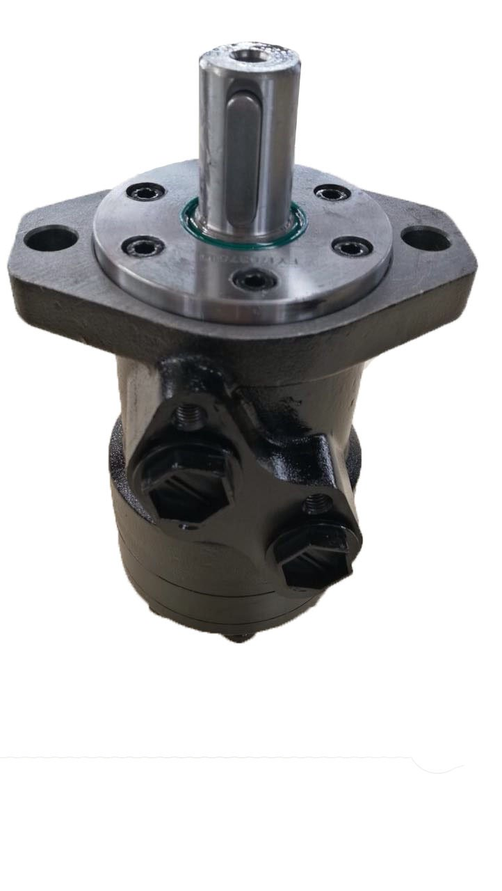 Hydraulic Motor Replacement for Danfoss OMP Series 100cc, 2-Bolt Mounting Flange, G1/2 NPT Ports TG02002 Fei Yue