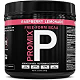 BCAA Powder Amino Acid Energy Branched Chain I Vegan Keto Paleo Instantized Essential Fermented I Non GMO Gluten + Soy Free Form Fasting I 100% Pure Performance Promix Women, Raspberry Lemonade Flavor