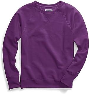 Champion Women's Fleece Boyfriend Crew Sweatshirt W29567