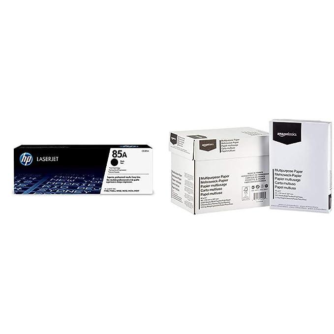 HP 85 - Cartucho de tóner Original HP 85A Negro para HP Laserjet ...