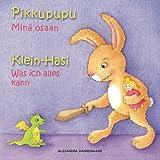 Klein Hasi - Was ich alles kann, Pikkupupu - Minä osaan: Bilderbuch Deutsch-Finnisch (zweisprachig/bilingual) ab 2 Jahren