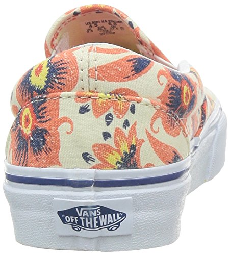 Sneakers on Orange U Unisex Slip Classic Erwachsene Vans Weiß w4YRZqq