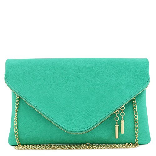 Turquoise Bag Clutch - 1