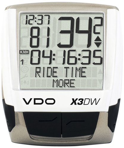 VDO X3DW-CAD Wireless Computer w/Cadence by VDO