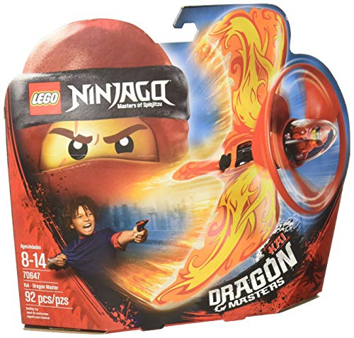 LEGO NINJAGO Kai - Dragon Master 70647 Building Kit (92 -