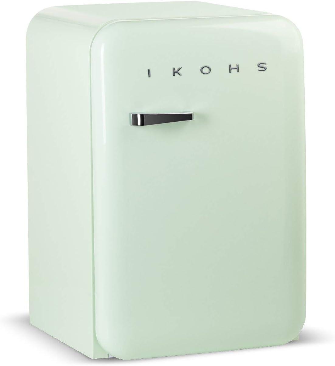 IKOHS Retro Fridge - Frigorífico con diseño, Control de Temperatura Ajustable