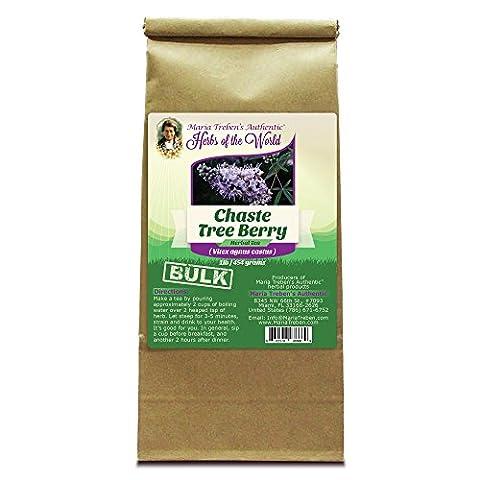 Chaste Tree Berry (Vitex agnus castus) 1lb/454g BULK Herbal Tea - Maria Treben's Authentic™ Herbs of the - Agnus Castus Berries