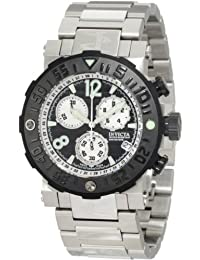 Invicta Men's Reserve Sea Rover Chronograph Black Dial Stainless Steel Watch INVICTA-10585