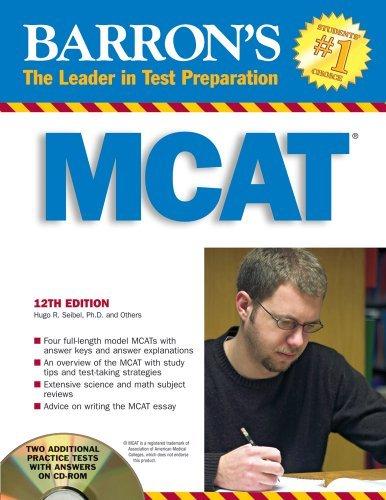 Barron's MCAT with CD-ROM: Medical College Admission Test (Barron's MCAT (W/CD)) by Hugo R. Seibel Ph.D. (2008-02-01)