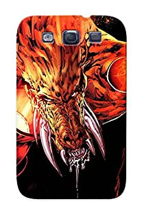 Awesome Design Brown Argyle Hard Case Cover For Galaxy S3