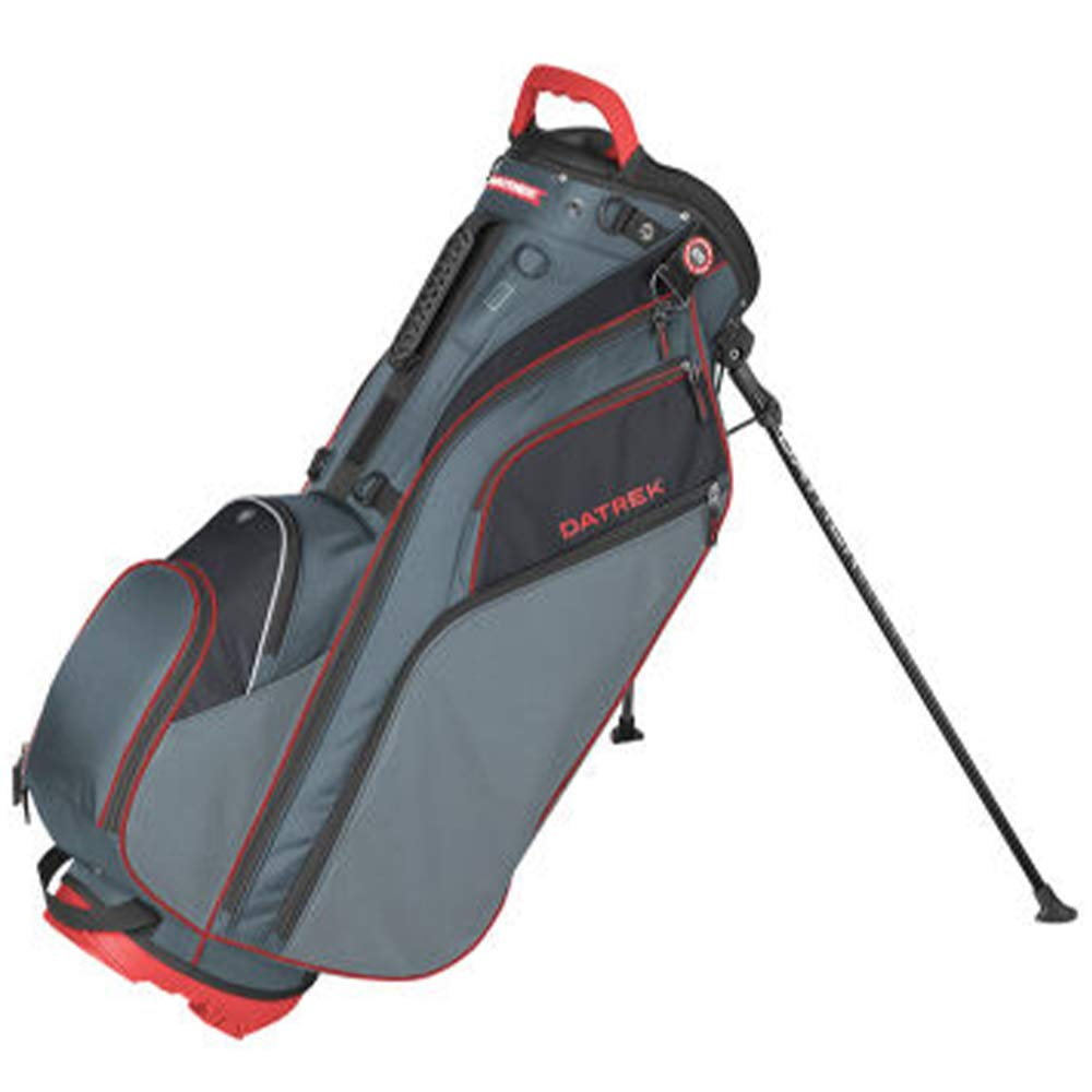 Datrek Unisex Go Lite Hybrid Stand Bag Charcoal/Red/Black by Datrek