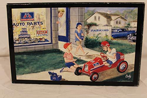 1947 BMC Pedal Car Bank 1:6 Scale Big A Auto Parts (6 Scale Bank)