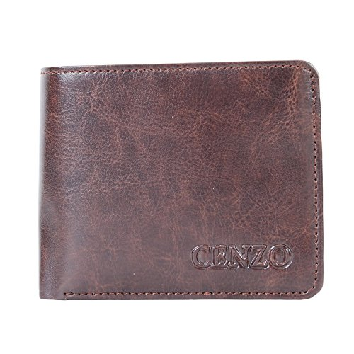 Bagaholics Mens Wallet Gents Purse Gift for Men (Dark Brown)